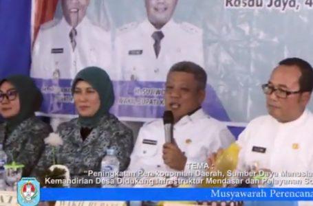Musrenbang Rasau Jaya TA 2021