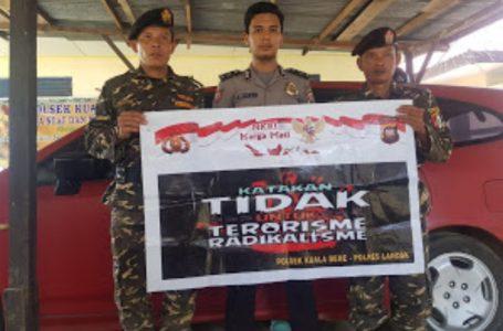 Ormas Ansor Banser  Kecamatan Kuala behe dukung Polsek Kuala behe cegah radikalisme