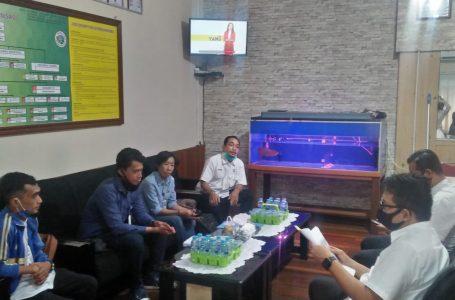 Intitusi penerima wajib lapor ( IPWL ) RBM Bumi Khatulistiwa melaksanakan Audiensi ke Direktorat Narkoba Polda Kalimantan Barat