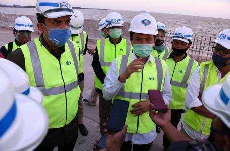 Komisi VII DPR RI dan Kepala BPH Migas Kunjungi Proyek Pelabuhan Kijing