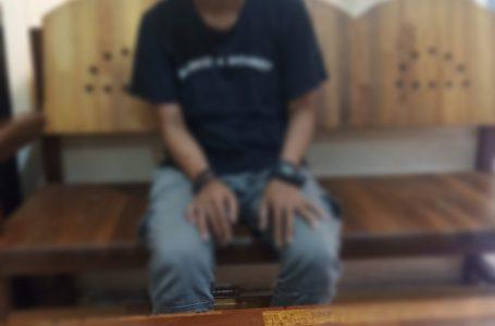 Direktorat resnarkoba Polda Kalbar bersama team Bea Cukai Kalbagbar tangkap Pengedar Narkoba.